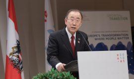 Ban Ki-Moon (c) Jana Madzigon