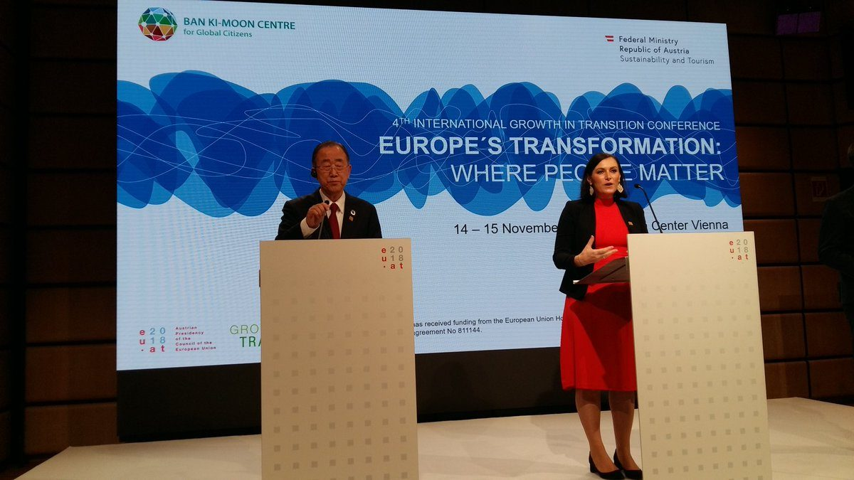 Ban Ki Moon, Köstinger