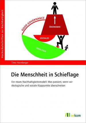 """Buchcover """"Die Menschheit in Schieflage"""""""