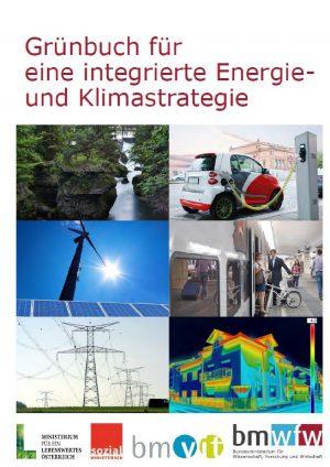 Grünbuch für eine integrierte Energie- und Klimastrategie (C) BMWFW