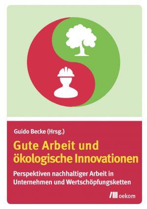 Buchcover Gute Arbeit undökologische Innovationen