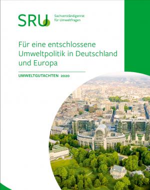 Cover Umweltgutachten 2020