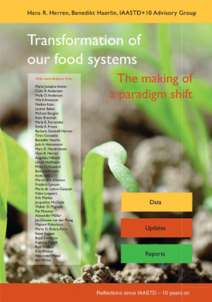 """Buchcover """"Transformation of our food systems"""""""