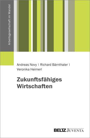 """Buchcover """"Zukunftsfähriges Wirtschaften"""""""
