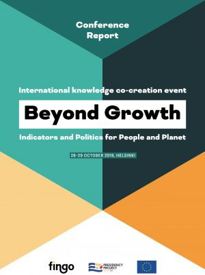 "Cover ""Beyond Growth Report"""