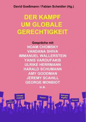 """Buchcover """"Der Kampf um globale Gerechtigkeit"""""""
