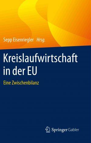"""Buchcover """"Kreislaufwirtschaft in der EU"""""""