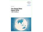 World Economic Forum Global Risk Report 2018