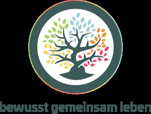"""Logo """"bewusst gemeinsam leben"""""""