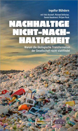 """Buchcover """"Nachhaltige Nicht-Nachhaltigkeit"""""""