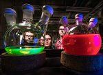 Glasbehälter im Labor